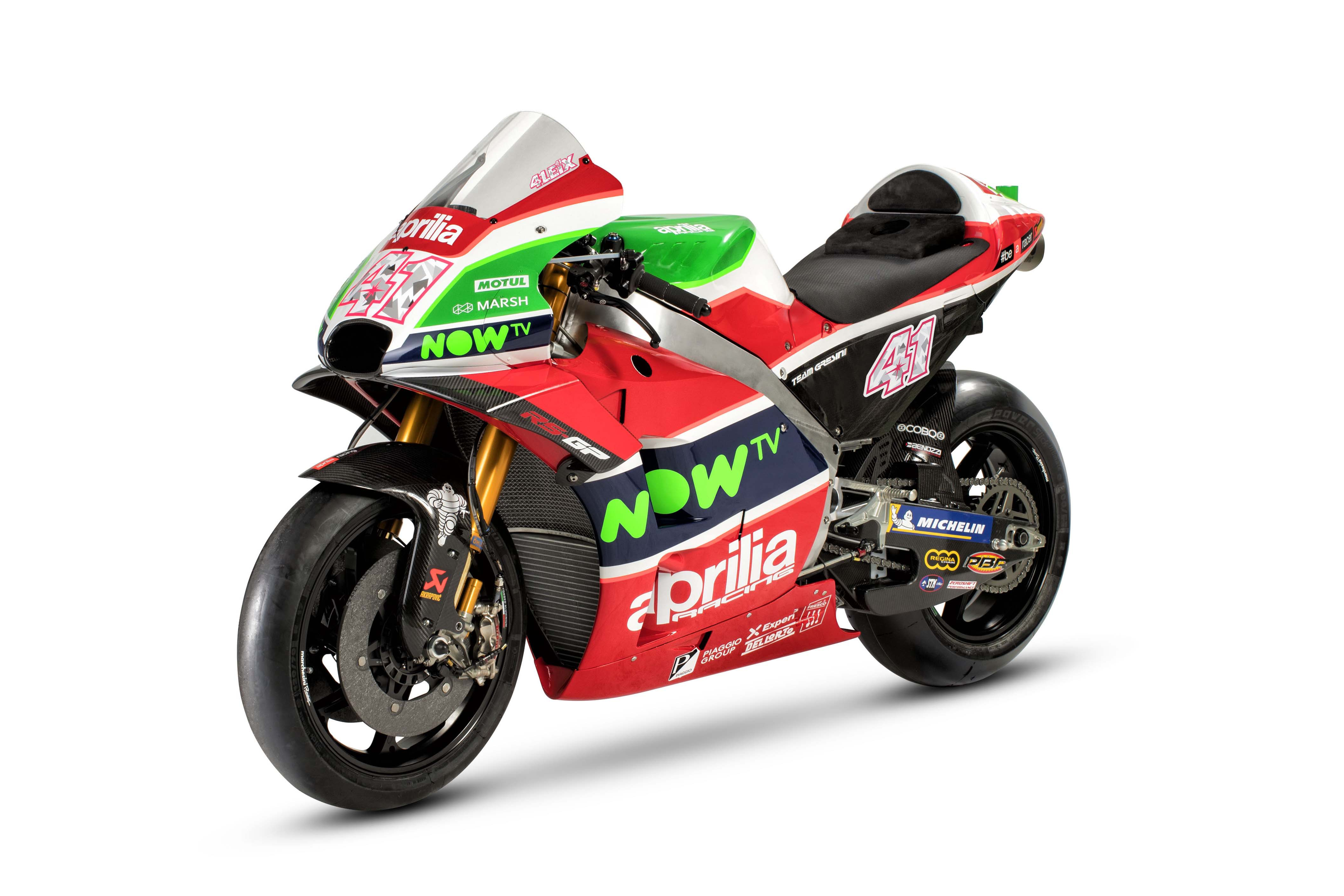 2018 Aprilia RS GP MotoGP race bike 01