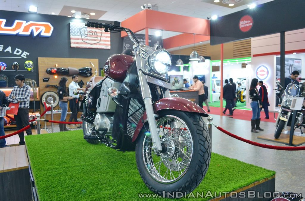 UM Renegade Thor front at 2018 Auto Expo 1024x678