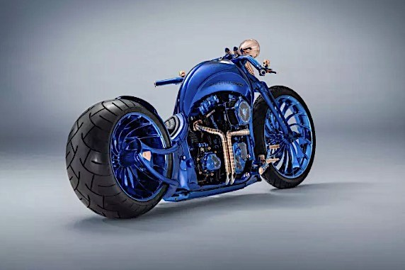 harley davidson bucherer blue edition is the most expensive bike ever 1