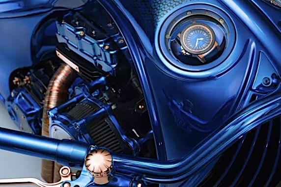 harley davidson bucherer blue edition is the most expensive bike ever 2
