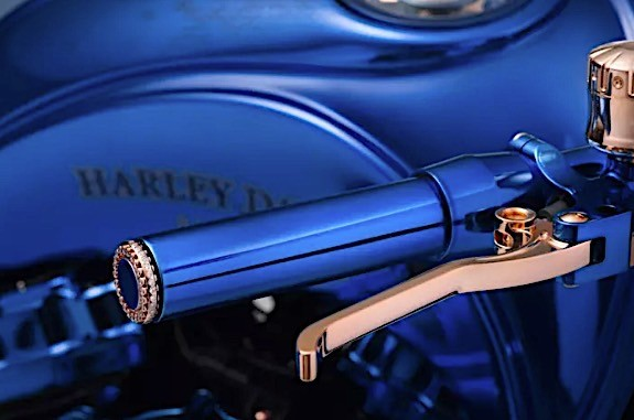 harley davidson bucherer blue edition is the most expensive bike ever 3