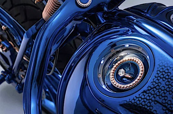 harley davidson bucherer blue edition is the most expensive bike ever 4