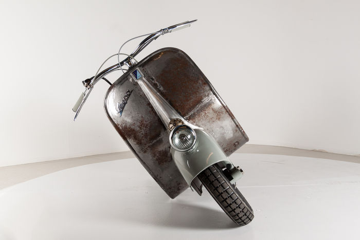 oldest vespa scooter up for grabs might get auctioned for over 200k 116432 1