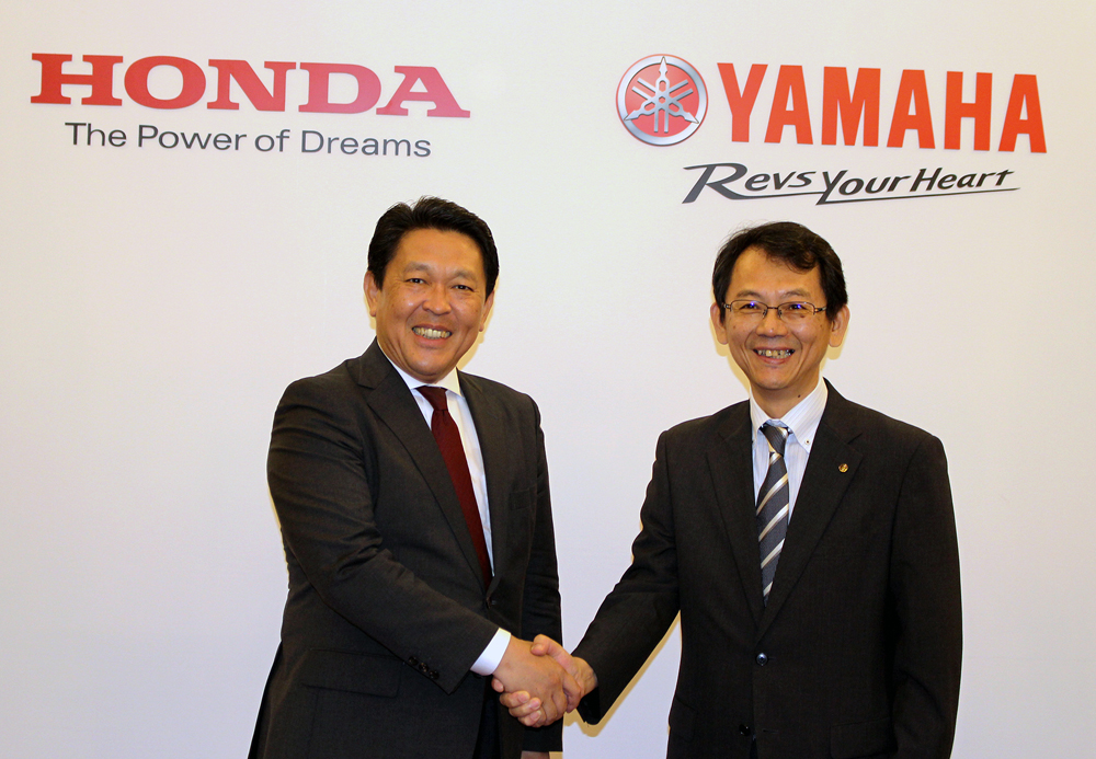 yamaha honda collaboration