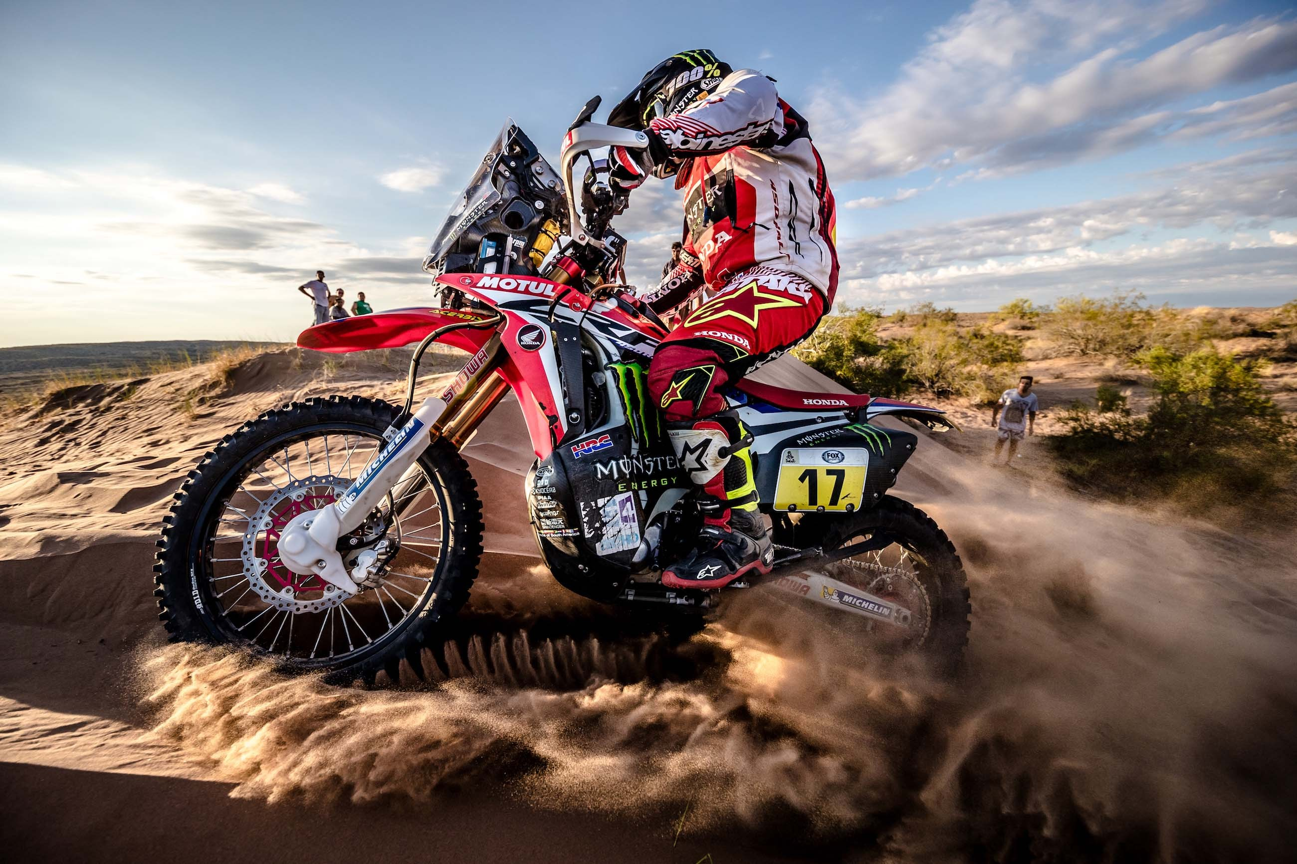 2017 Dakar Rally Stage 12 Honda 09
