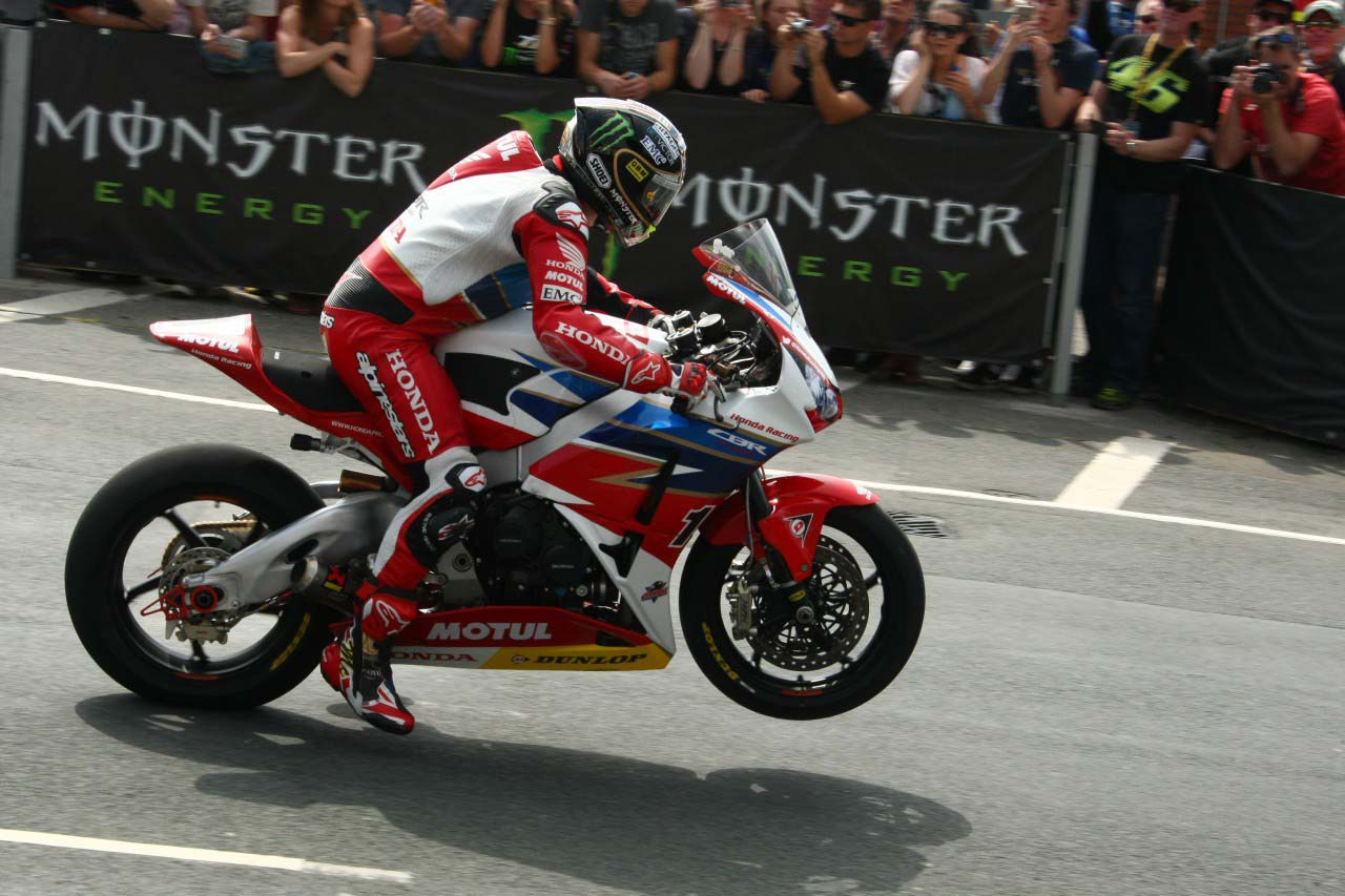 Jonn McGuinness Honda Pro Racing Isle of Man TT 03