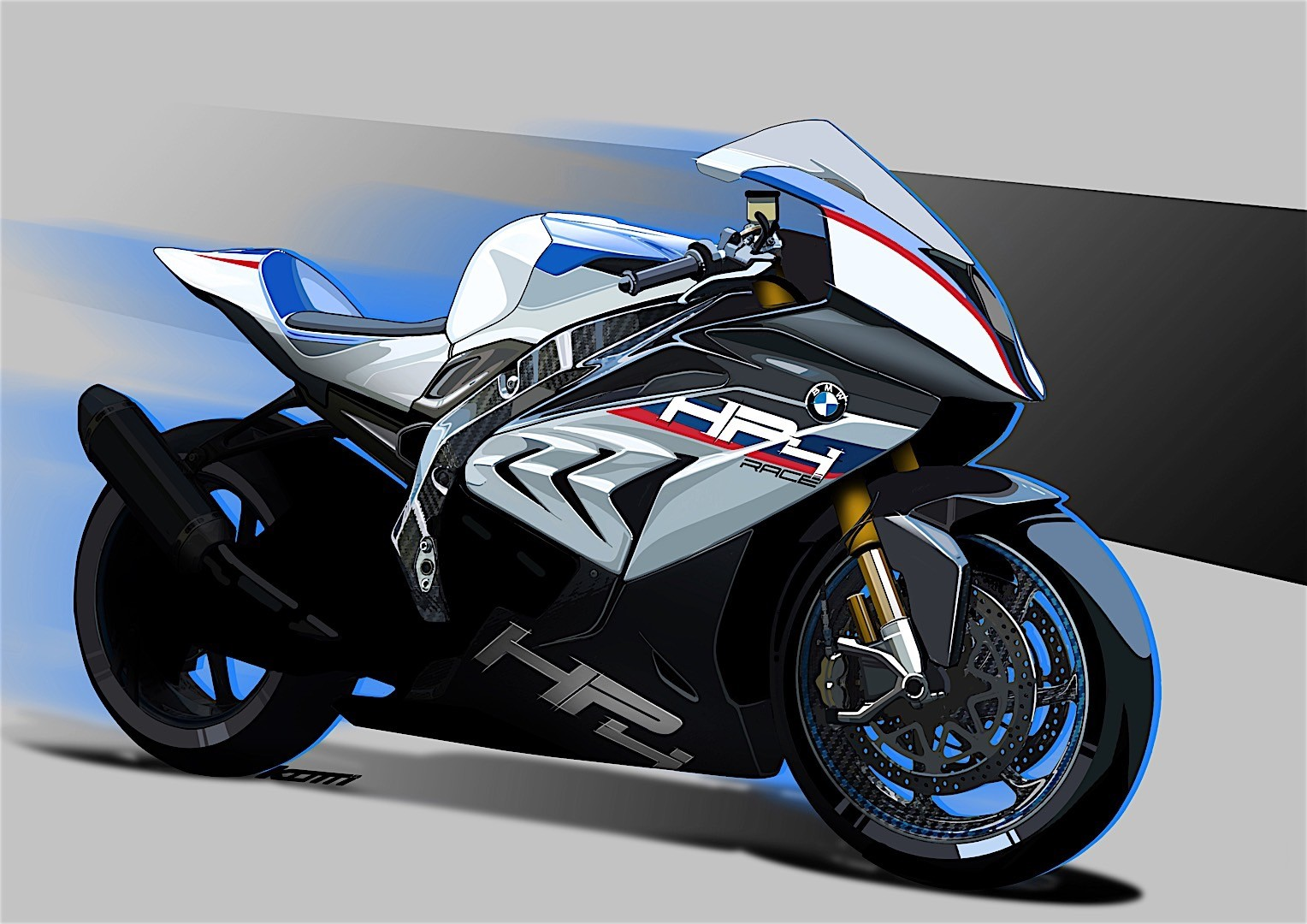 bmw motorrad announcing exclusive hp4 race model for 2017 3